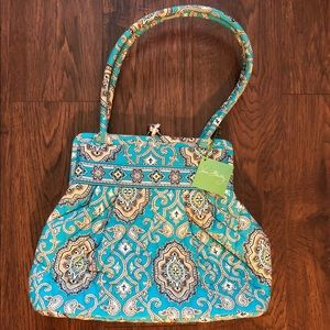 Vera Bradley Alice handbag Totally Turquoise NWT
